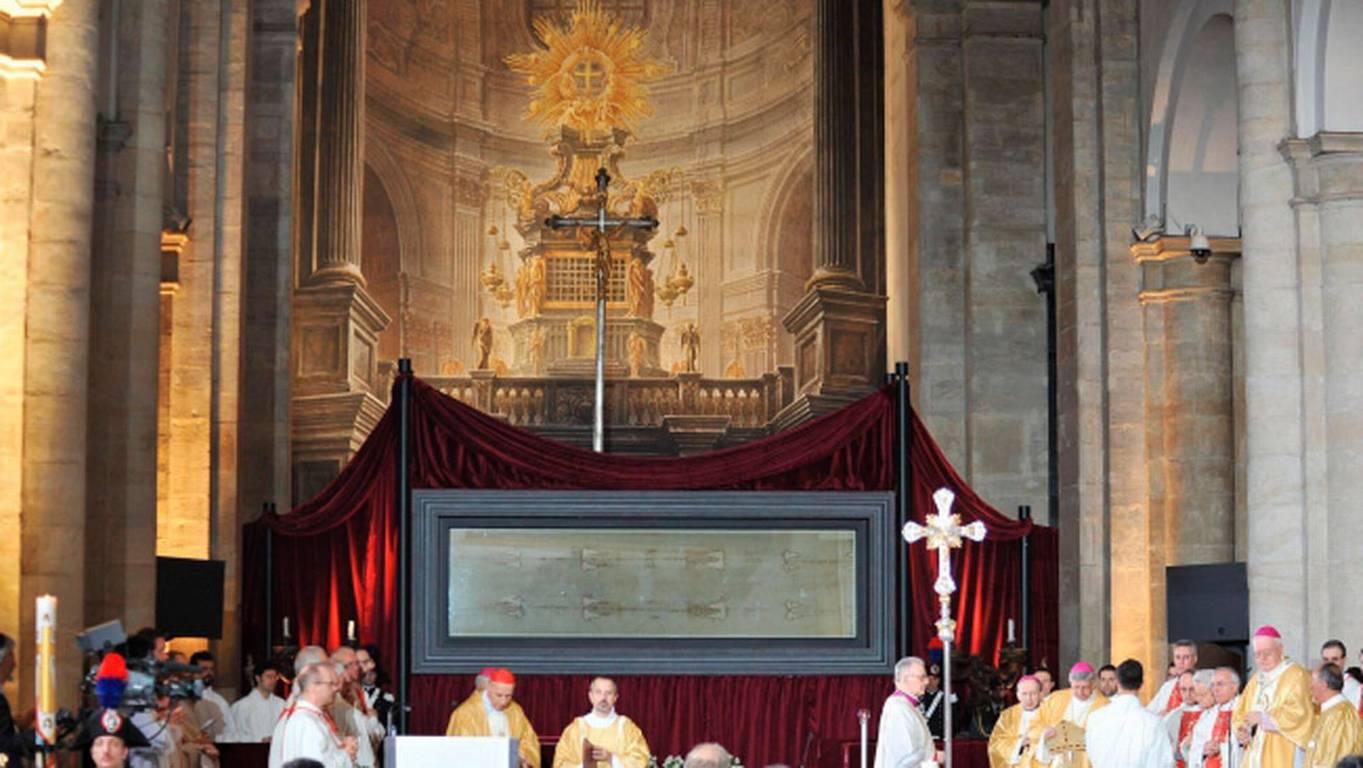 Estudio revela que el santo sudario contiene sangre humana