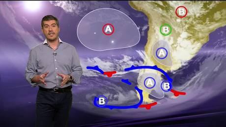 Pronóstico para este jueves 20 de abril