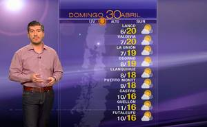 Pronóstico para este domingo 30 de abril