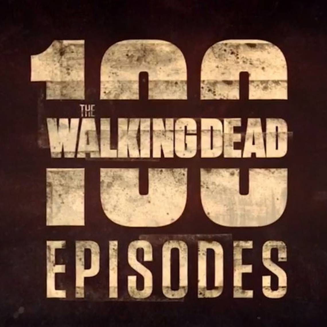 Así celebraron los actores los 100 capítulos de The Walking Dead