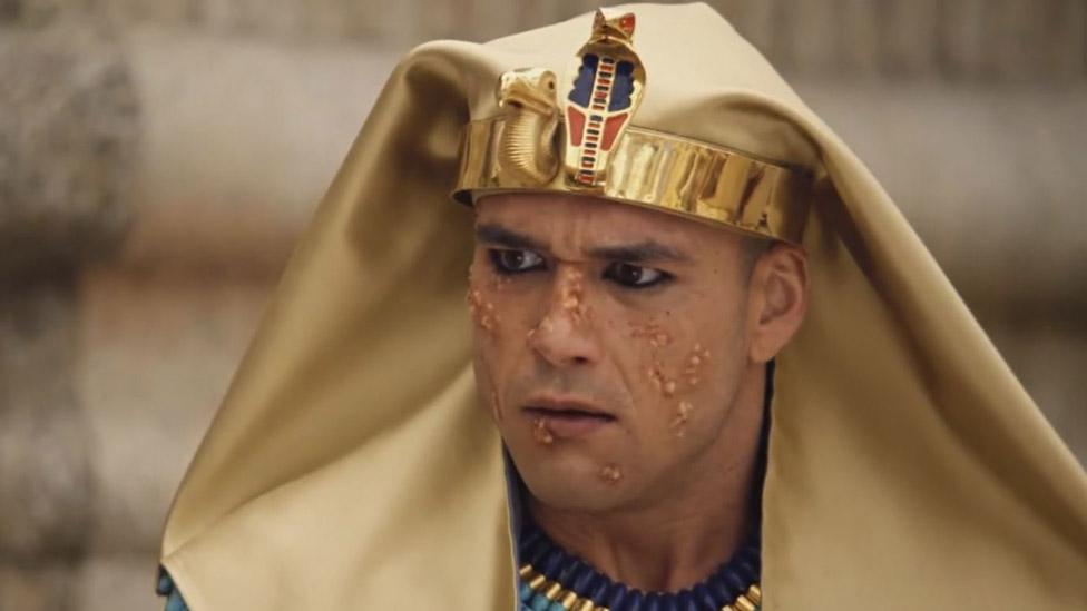 Llegaron Las Plagas A Egipto Moises Destacados Television