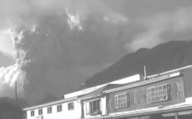 Vecinos del volcán