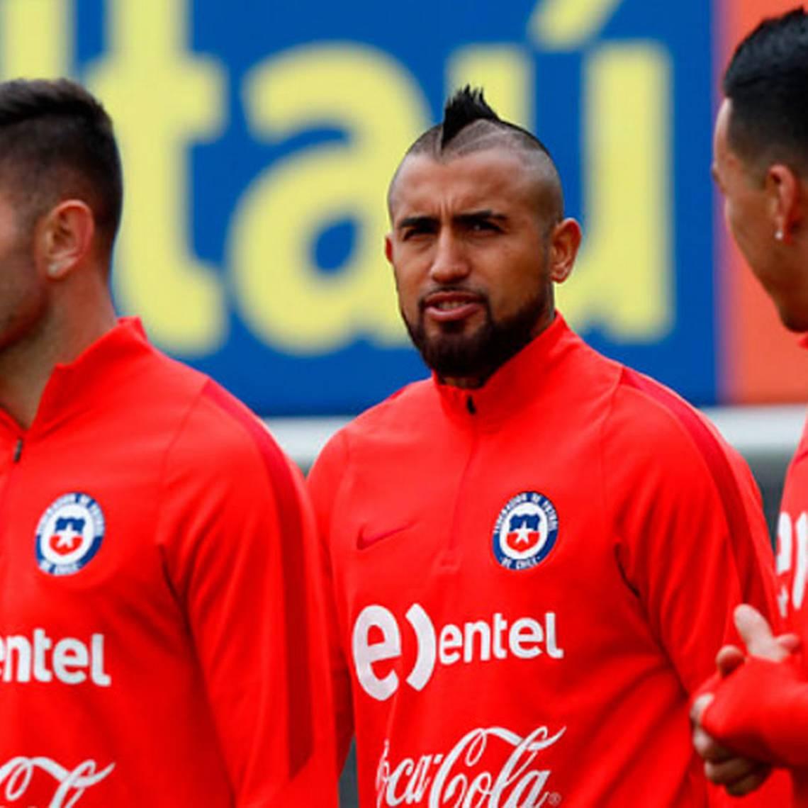 Vidal compartió su proceso de recuperación para estar ante Ecuador