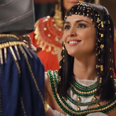 La increíble voz de la futura reina de Egipto