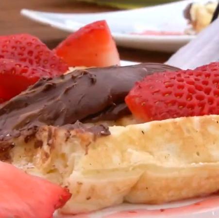 Conoce los mejores waffles de Pichilemu