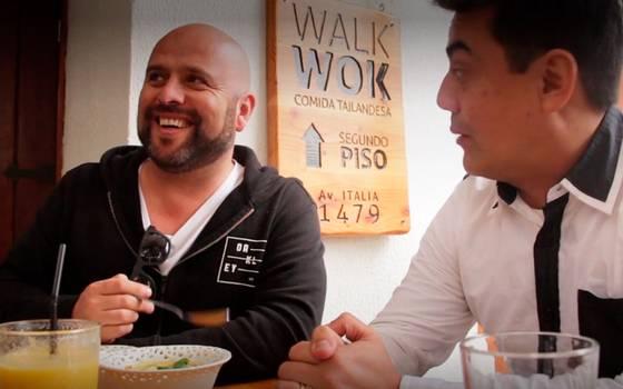 Platos ricos y sabrosos de comida Thai en Walk Wok