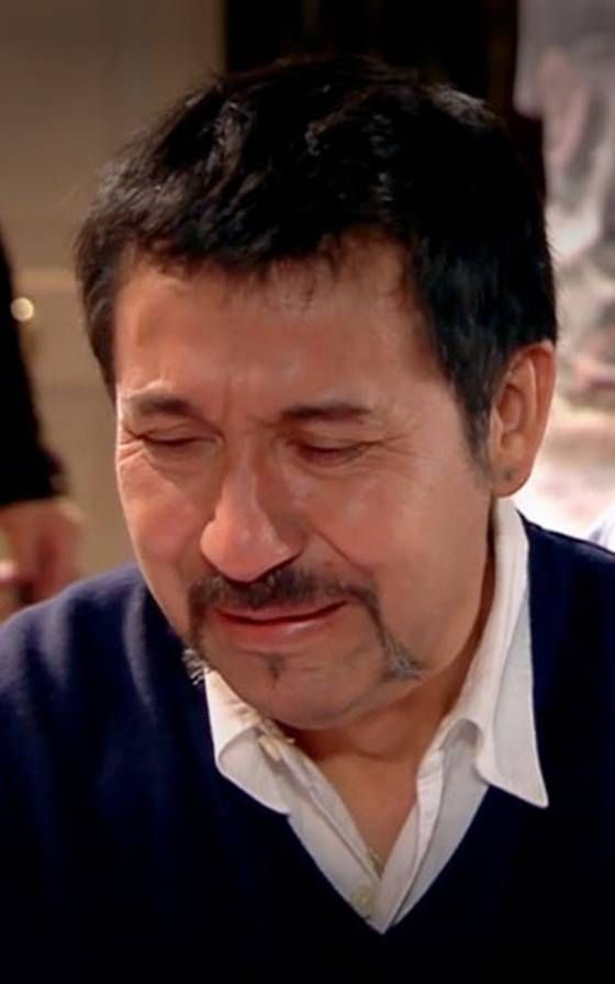 Andrés sufre por su abuelo