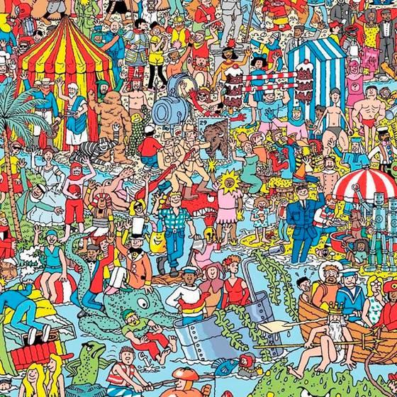 ¿Puedes encontrar a Wally en una imagen en 360 grados?