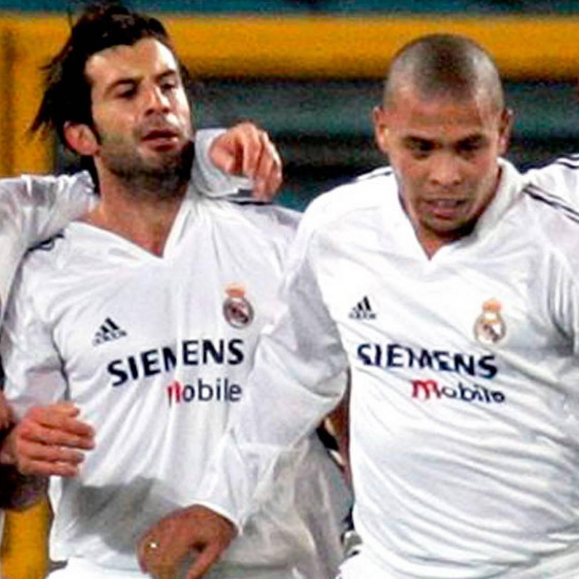 Míticas estrellas del Real Madrid se volvieron a juntar